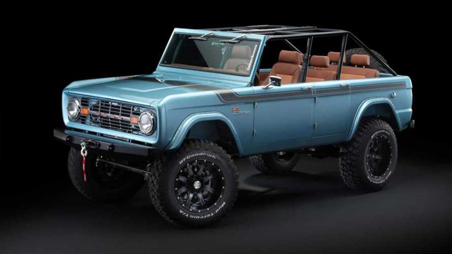 Four-Door Ford Bronco Is Custom Off-Roader Blue Oval Never Made