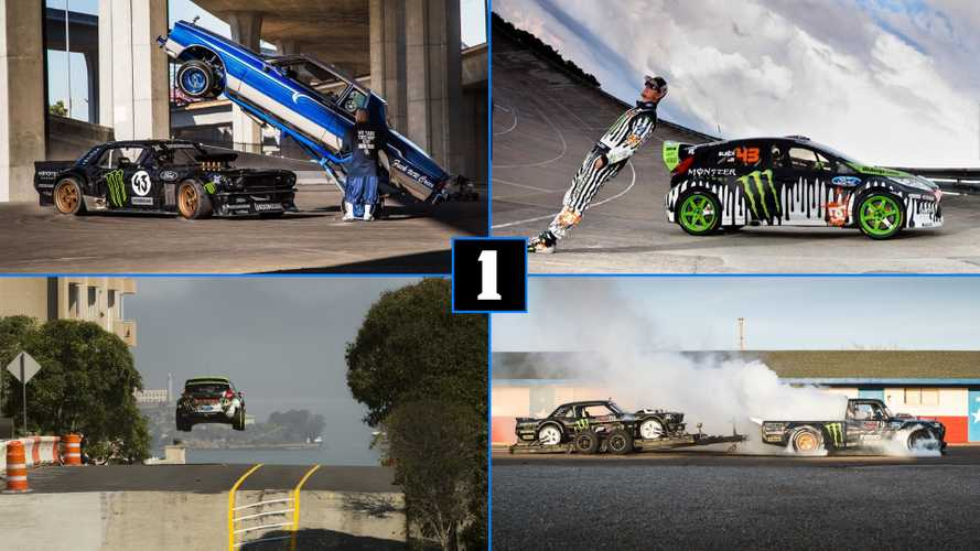 Revive la saga Gymkhana, de Ken Block, en diez videos