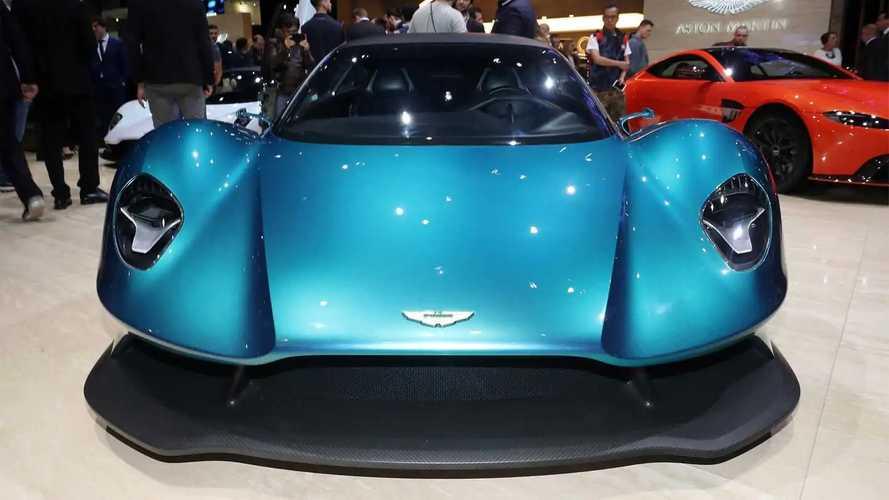 Aston Martin Vanquish Vision Concept - Voilà le moteur central !