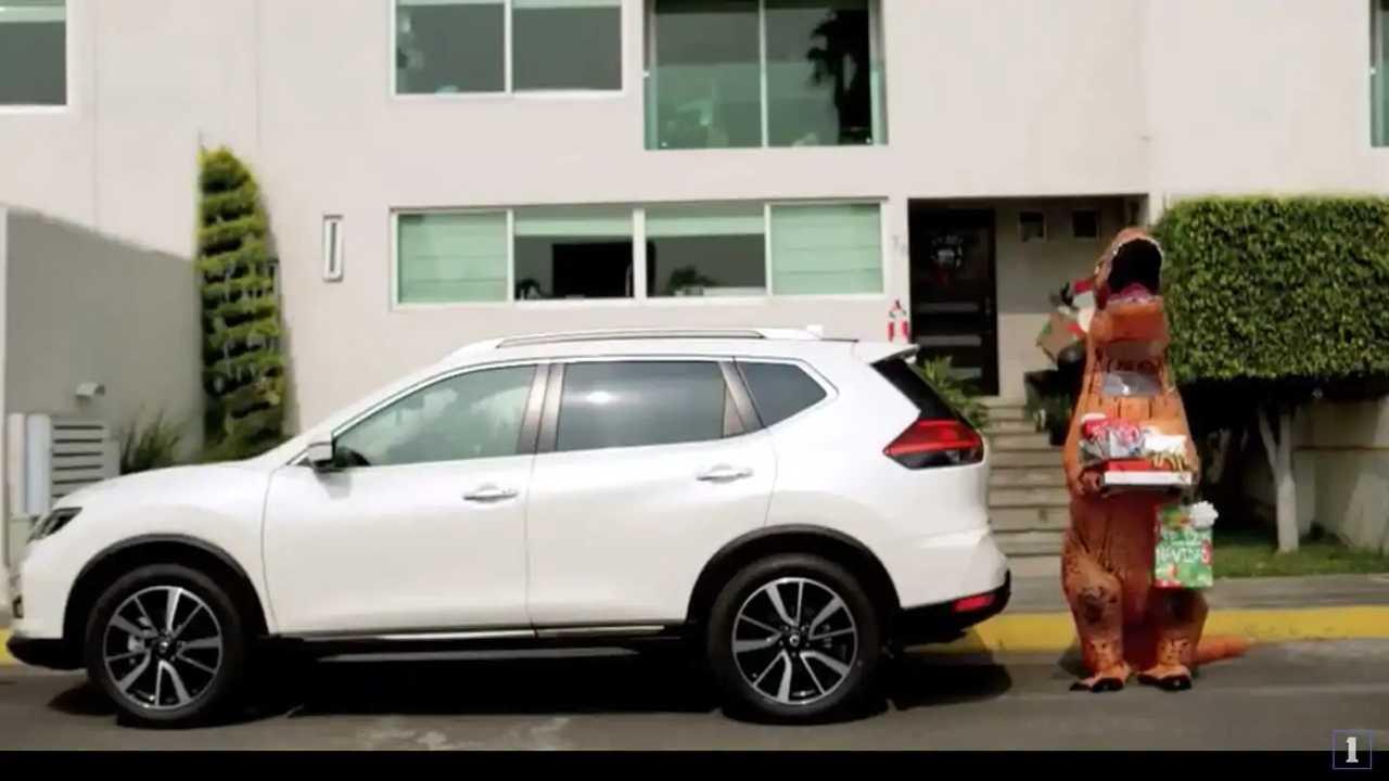 Nissan X-Trail no Natal