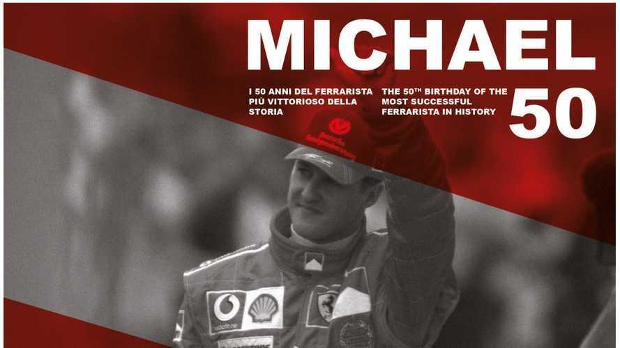 """""""Michael 50"""", gli auguri speciali della Ferrari a Schumacher"""