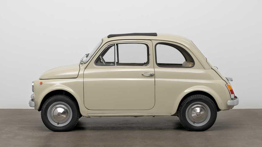 Fiat 500 al MoMA di New York, gloria al mitico Cinquino
