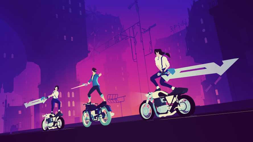 Sayonara Wild Hearts: A Pop-Driven Motorcycle Fighting Game