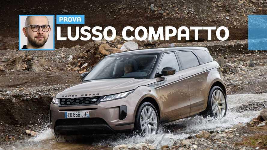 Nuova Range Rover Evoque: vanitosa, anche nel fango