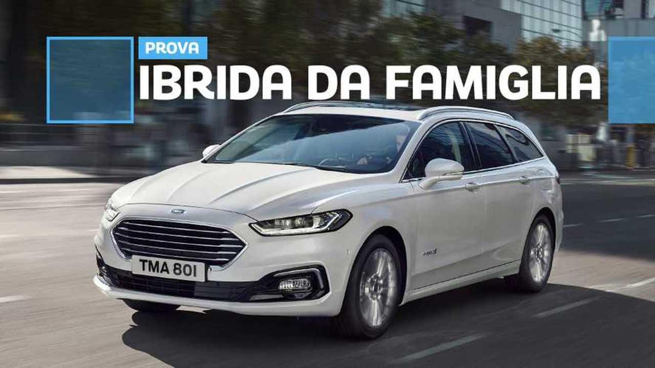 Ford Mondeo Hybrid Wagon, la prova su strada