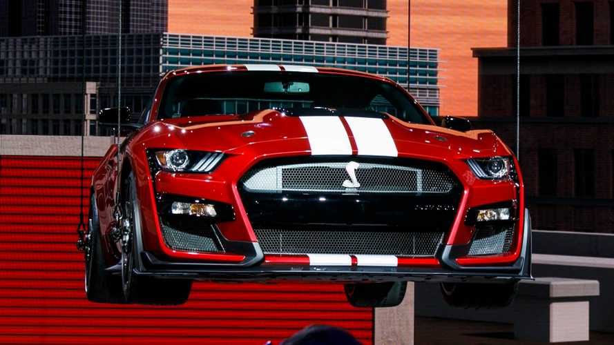 2020 Ford Shelby GT500 revealed in Detroit without bhp specs