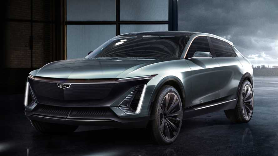 First-ever three-row crossover EV previewed by Cadillac