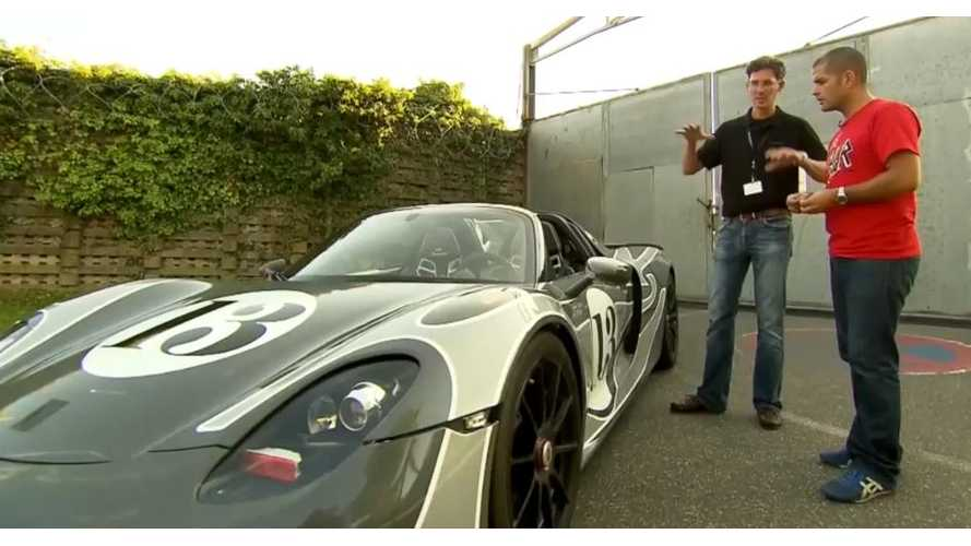 """Drive"" Takes New Porsche 918 Sypder Plug-In Supercar For A Spin (Video)"
