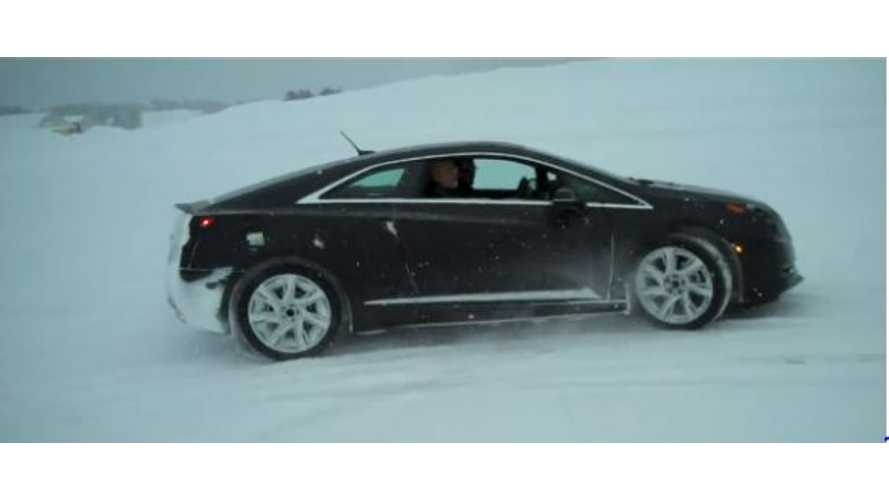 Video: 2014 Cadillac ELR Winter Test