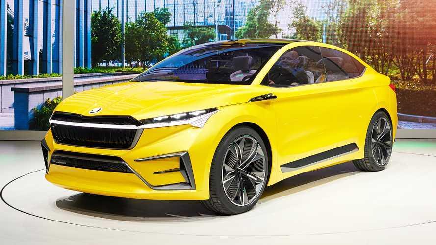 Skoda Vision iV concept, SUV coupé elettrico al Salone di Ginevra