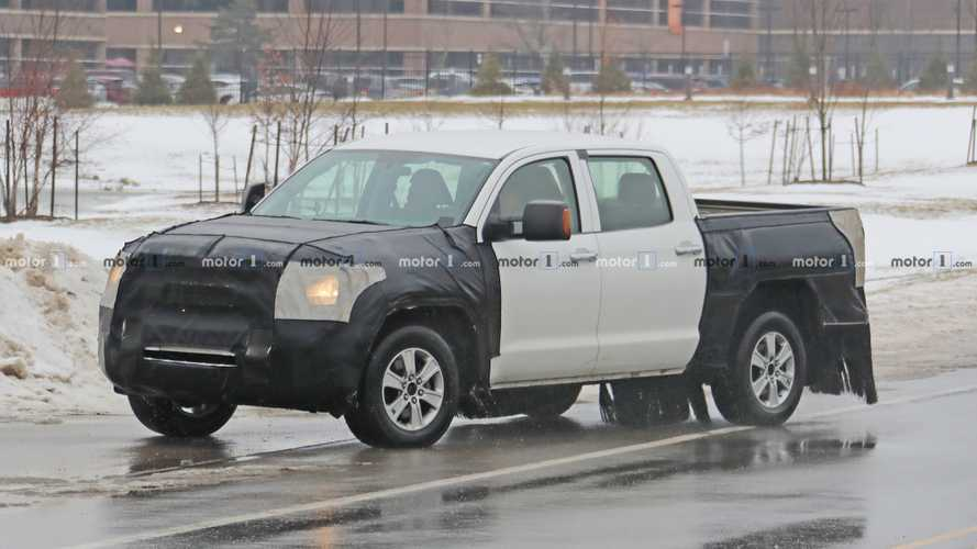 2020 Toyota Tundra Spied For The Very First Time