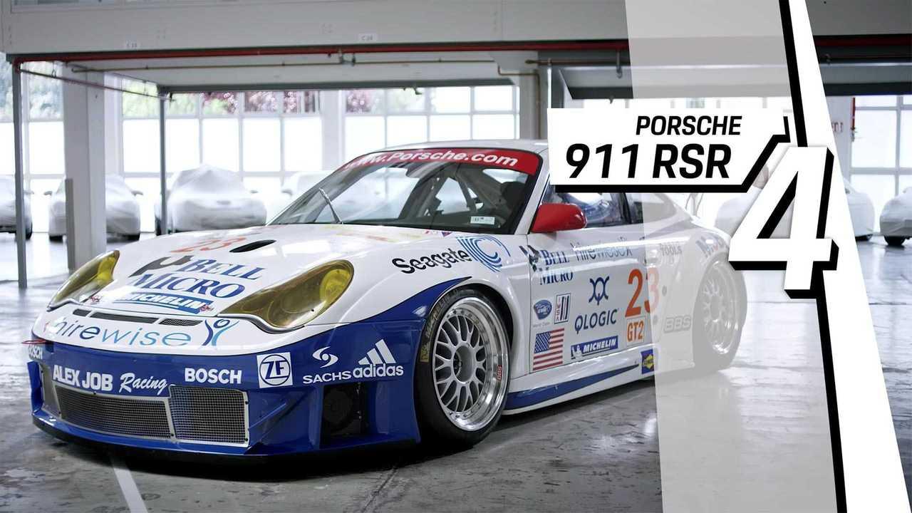 4. Porsche 911 RSR