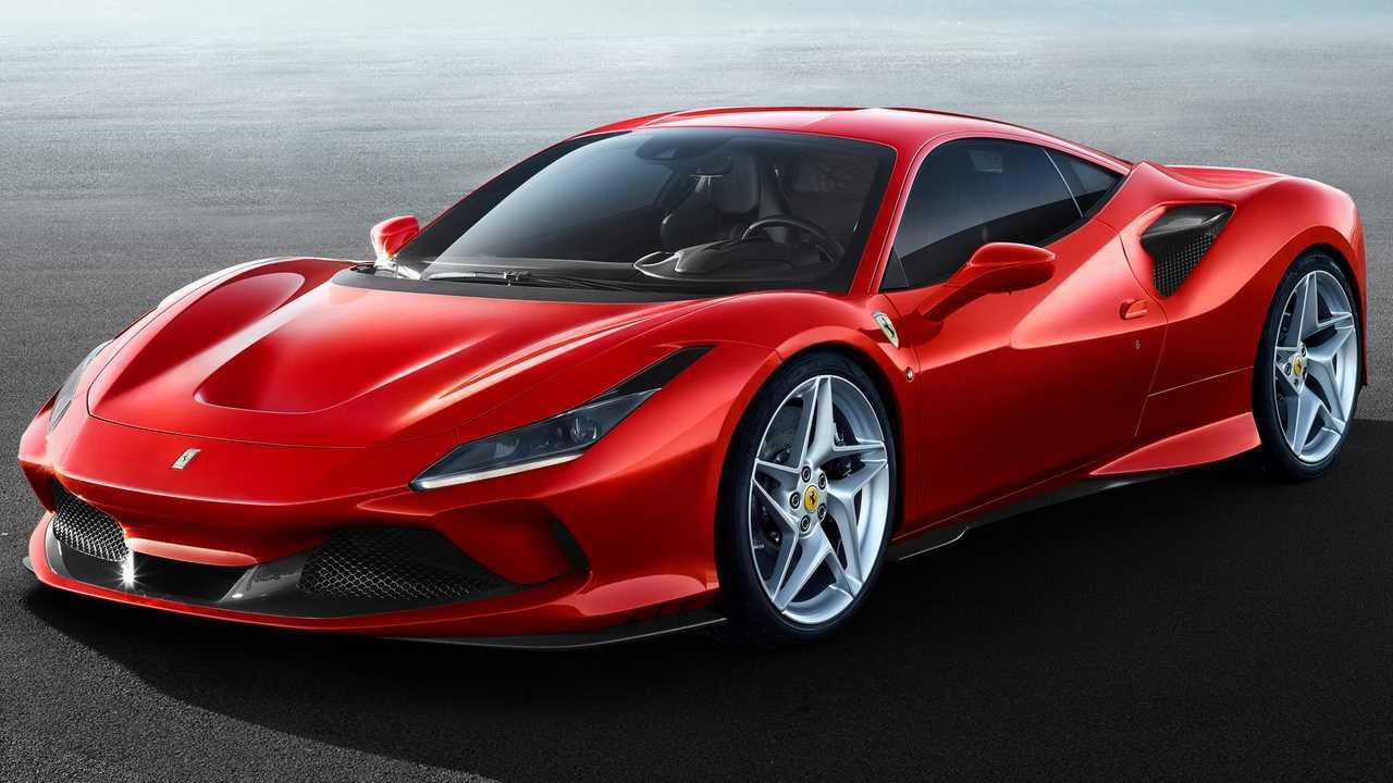 Ferrari F8 Profile