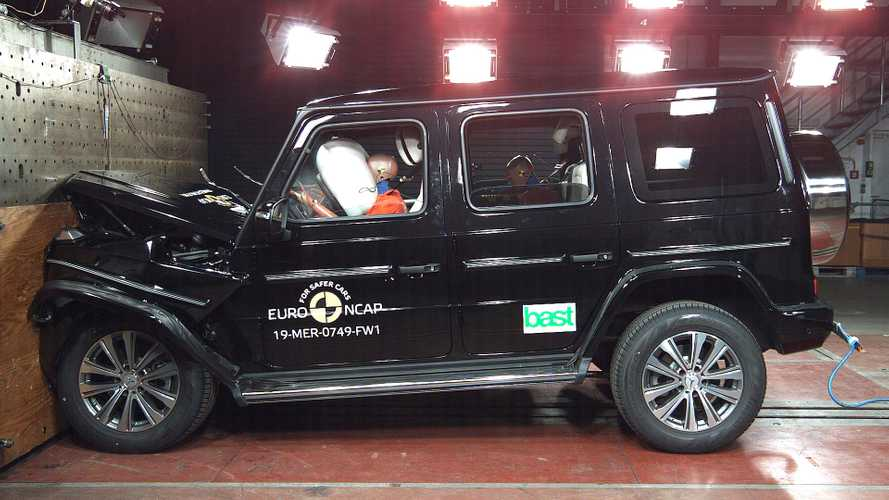 Mercedes Classe G 2018, Euro NCAP crash test