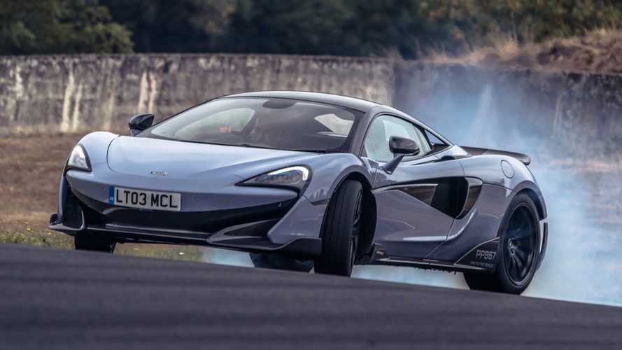 Chris Harris thinks McLaren 600LT's engine is 'quite laggy'