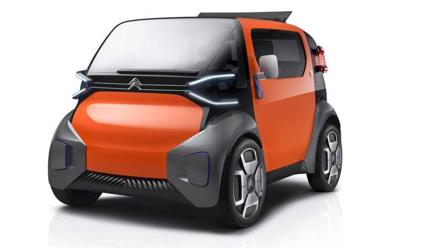 Citroën Presents Ami One Electric Concept For 100th Anniversary