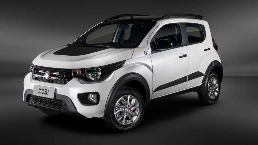 Fiat Mobi ganha pacote Cross de visual aventureiro por R$ 950