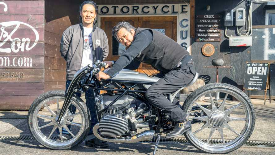 Spektakuläres Custom Bike mit BMW-Boxermotor