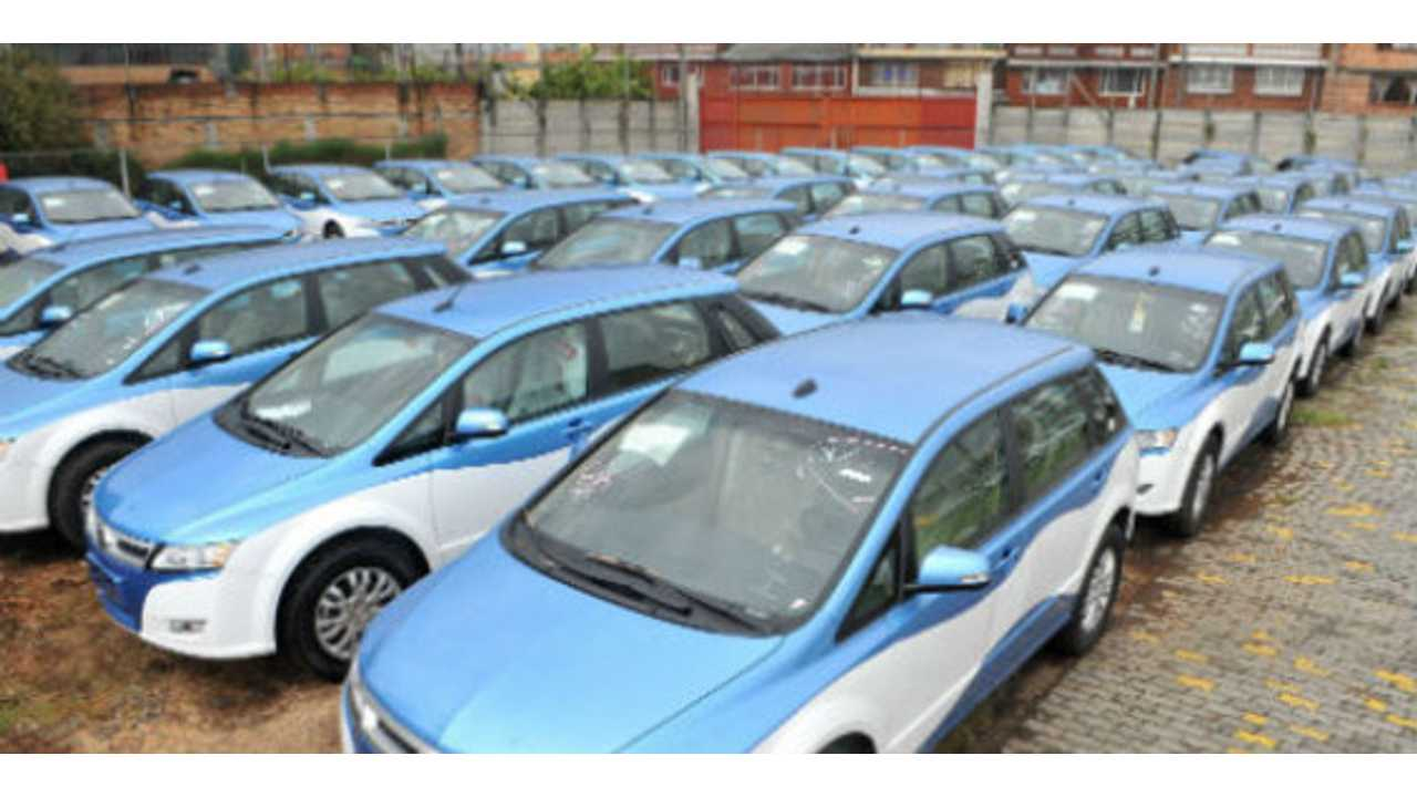 Thanks to BYD e6, Colombia Now Has the Largest Electric Taxi Fleet in South America