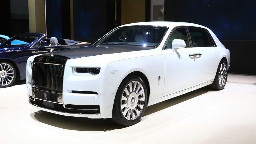 Rolls-Royce, al Salone di Ginevra c'è la Phantom dallo Spazio