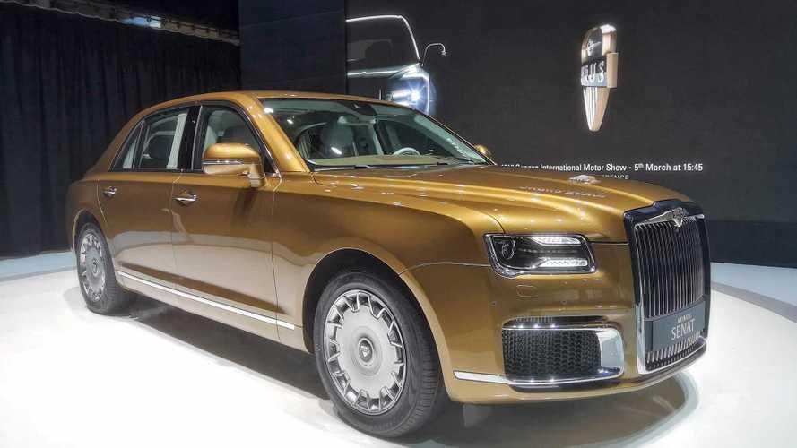 Aurus Senat S600, l'auto di lusso russa