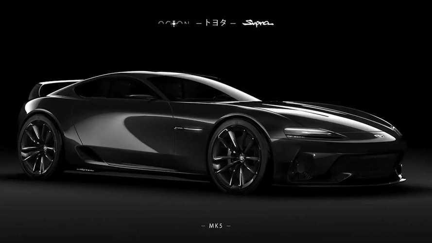 Toyota Supra Mk5 tasarım çalışması