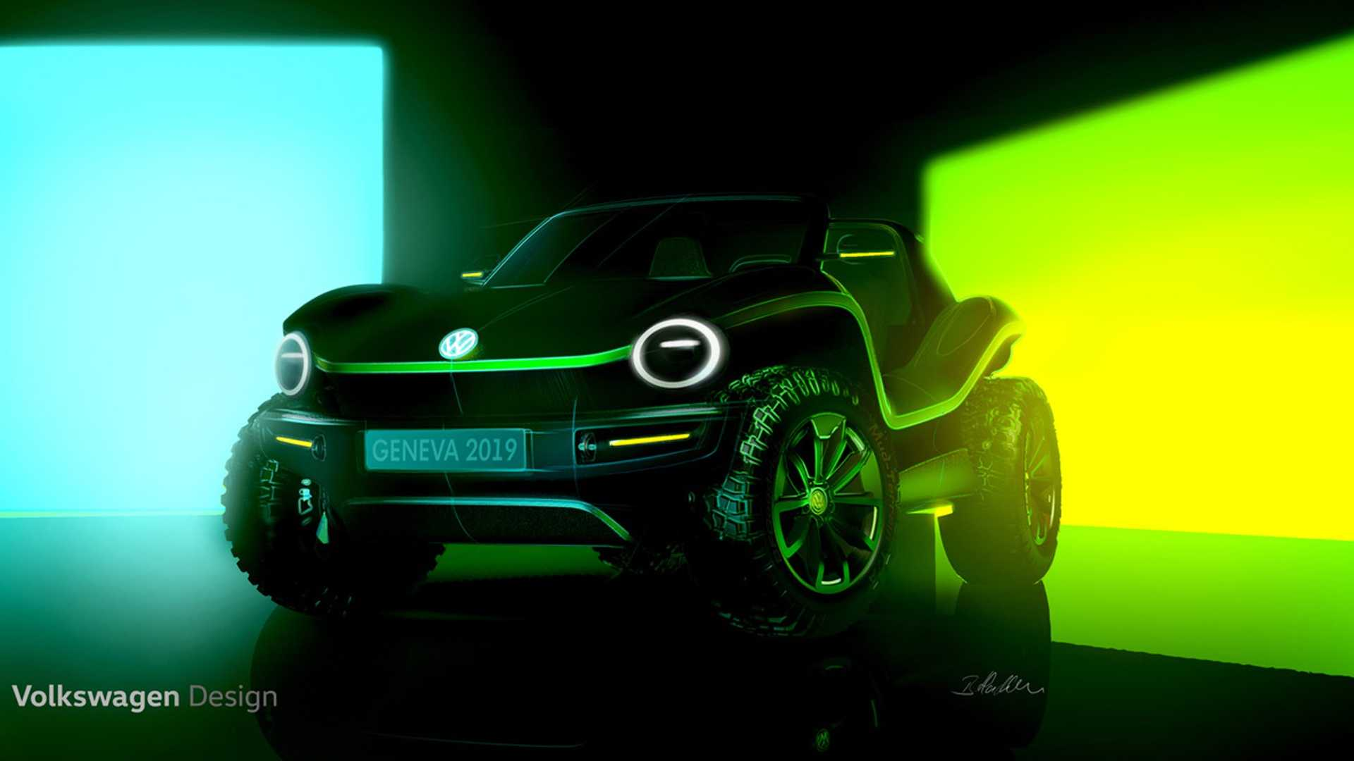 Vw Reviving The Classic Beach Buggy As An Electric Concept