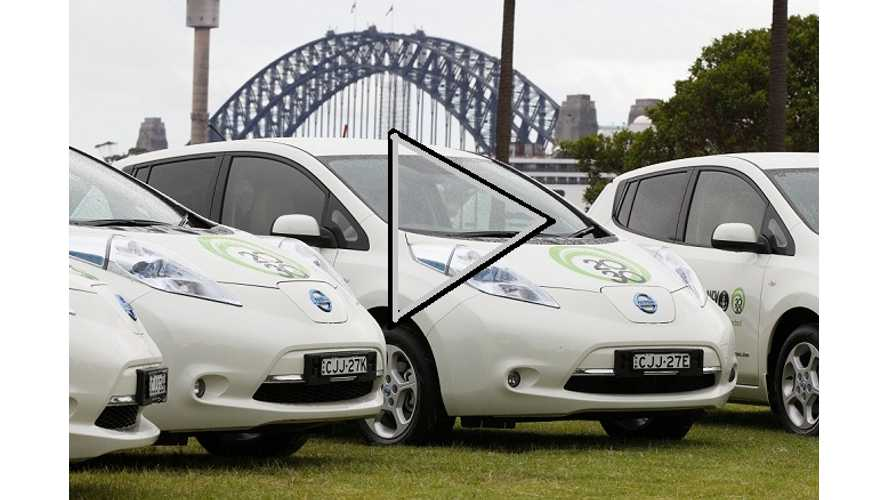 Video:  City Of Sydney Replaces Fleet Of Prius With Nissan LEAFs