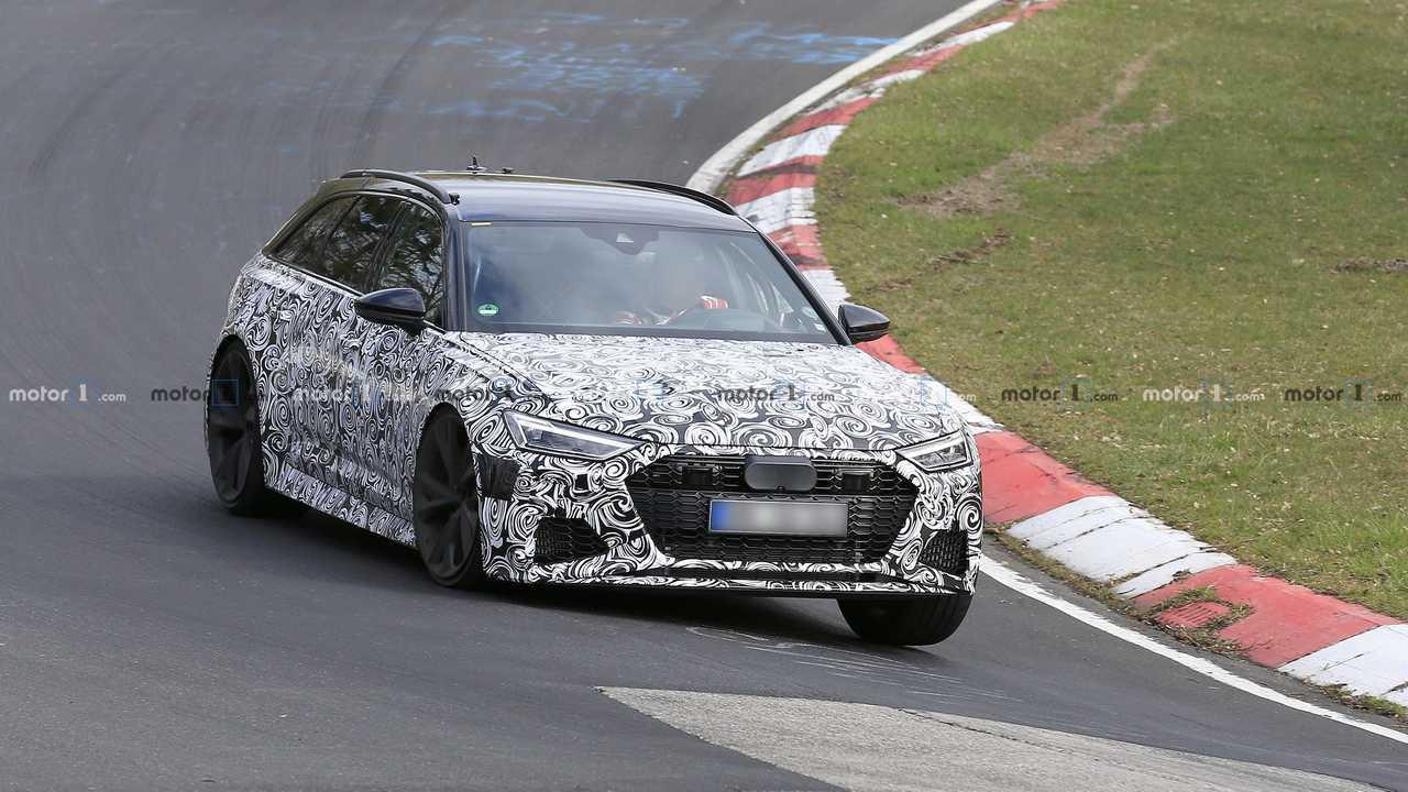 Audi RS6 Avant kémfotók