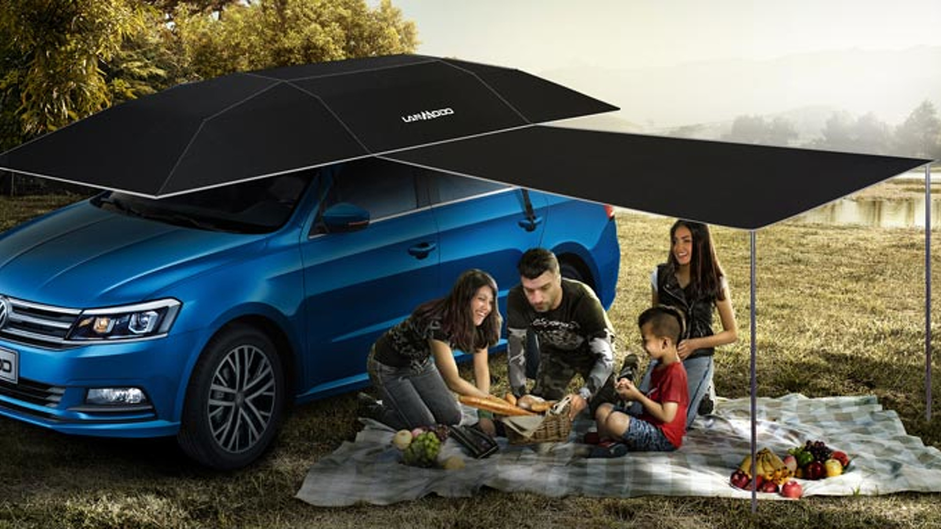 Automatic Car Umbrella Is Not As Absurd As You Think