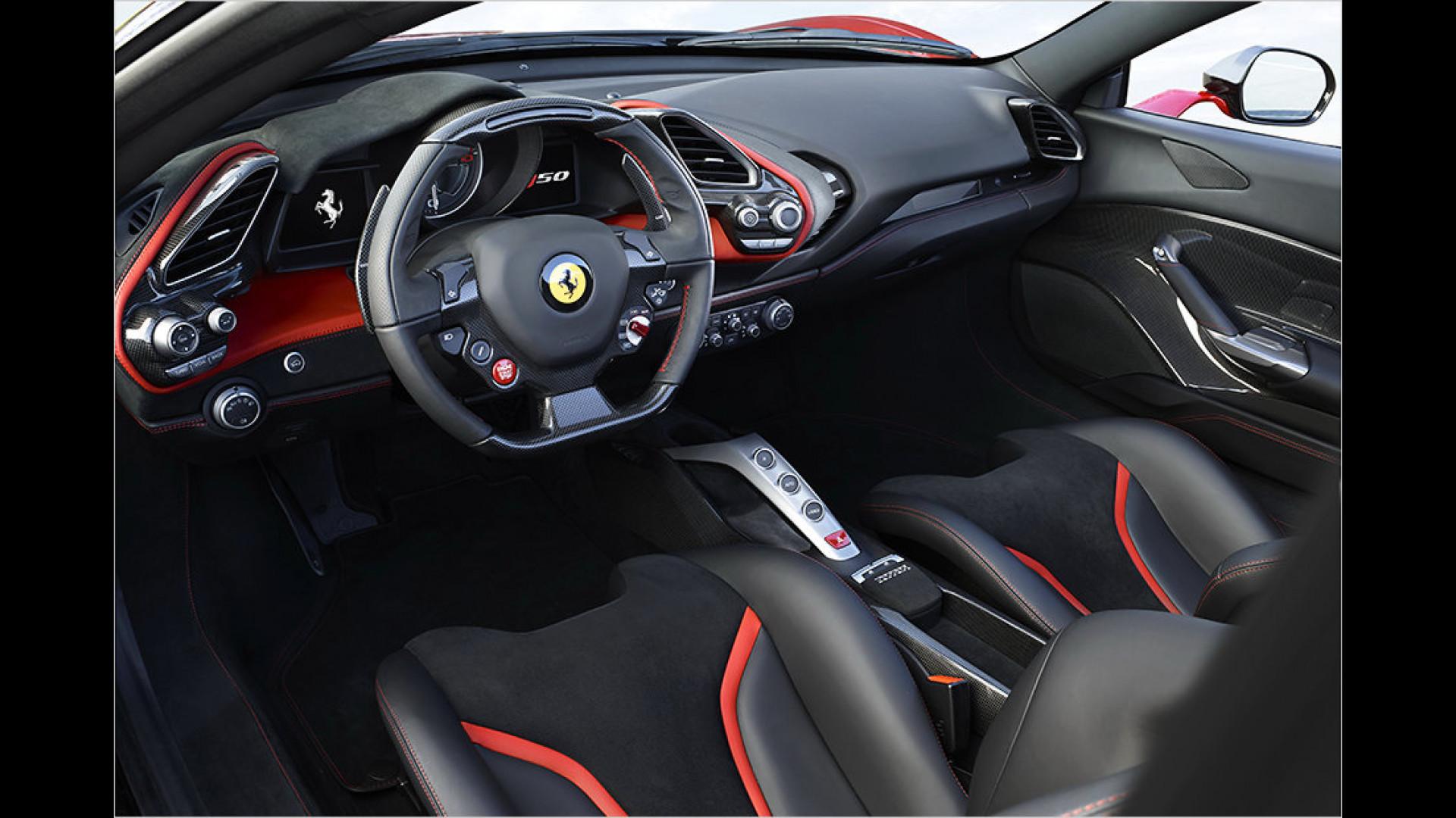 Ferrari J50 Nur Zehn Exemplare