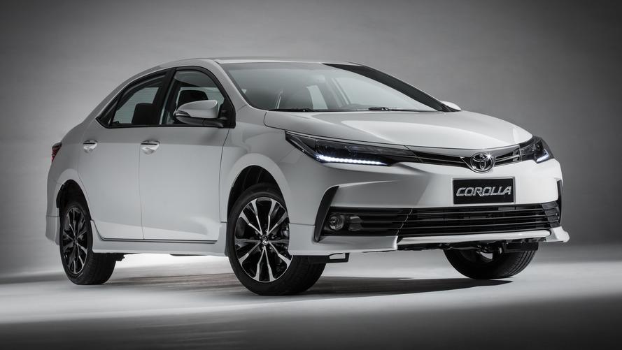Mais vendidos no mundo (1º trimestre) - Toyota Corolla lidera