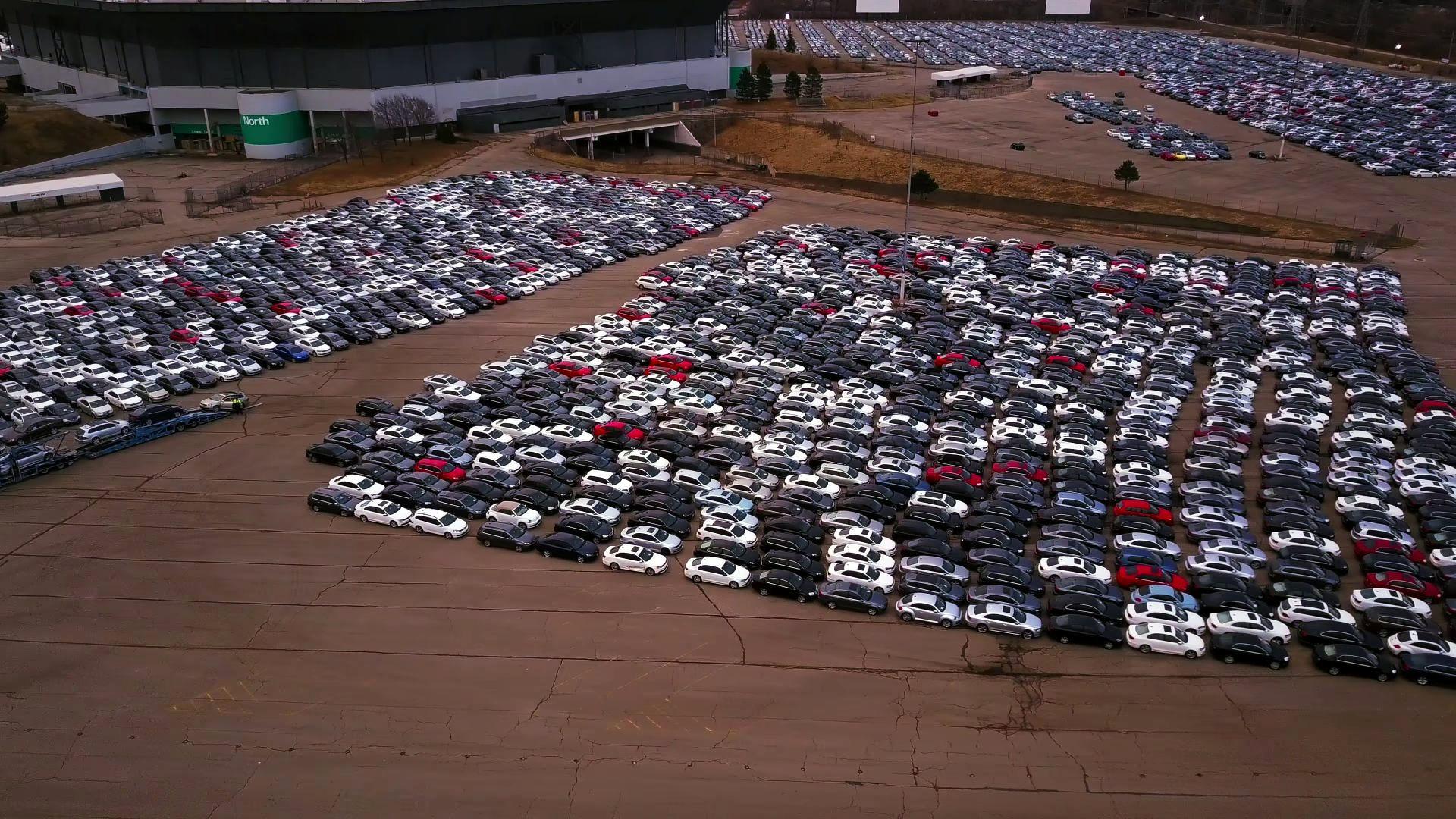 Volkswagen Audi Cars Stolen From Dieselgate Buyback Parking Lot
