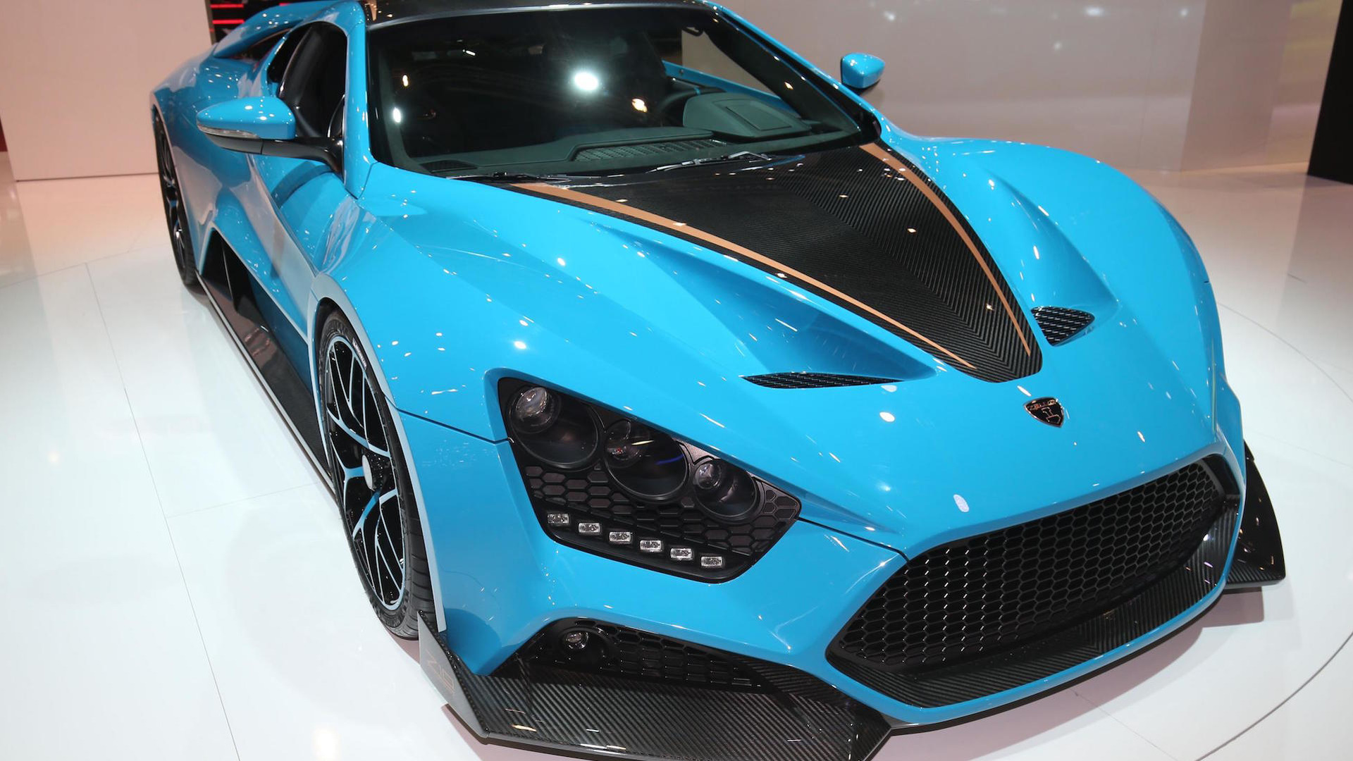 Zenvo Ts1 Gt Has 1 163 Hp Costs 1 2 Million And Is Very Blue