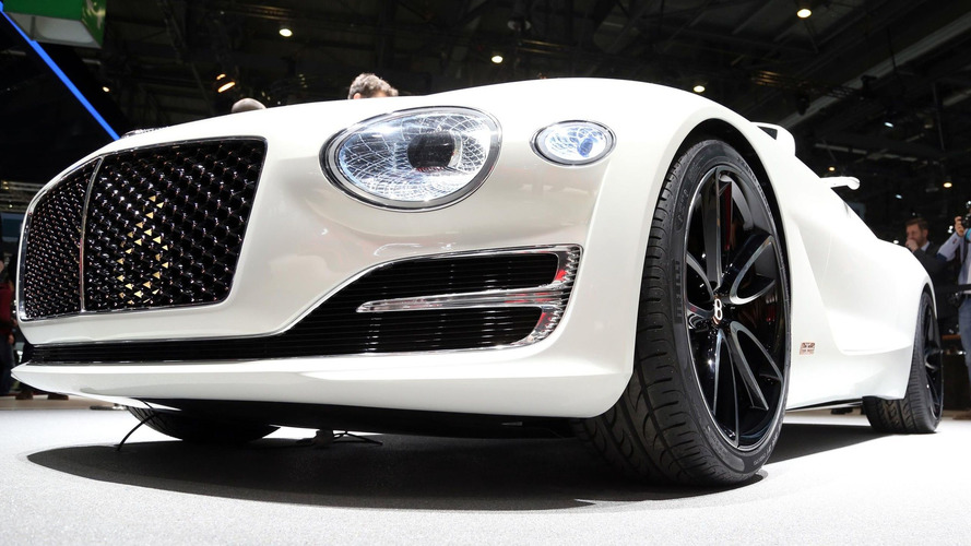 Bentley будет использовать дешевые электромоторы