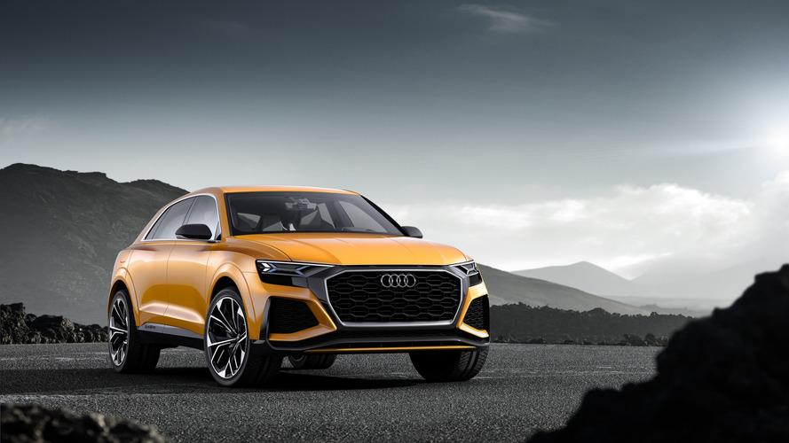 Audi Q8 Sport Concept, markanın performans SUV'sinin önizlemesi niteliğinde