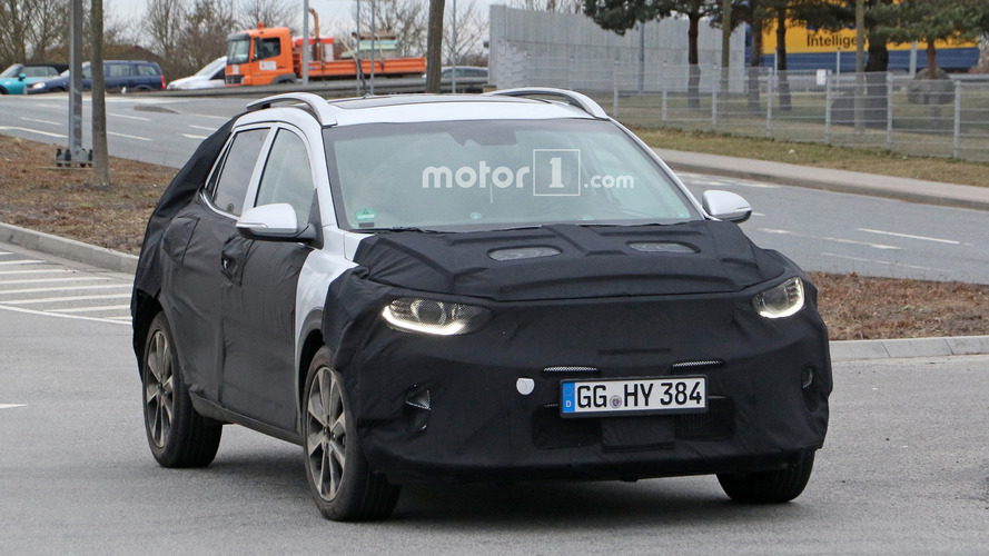 Kia Stonic Crossover Spied On The Road