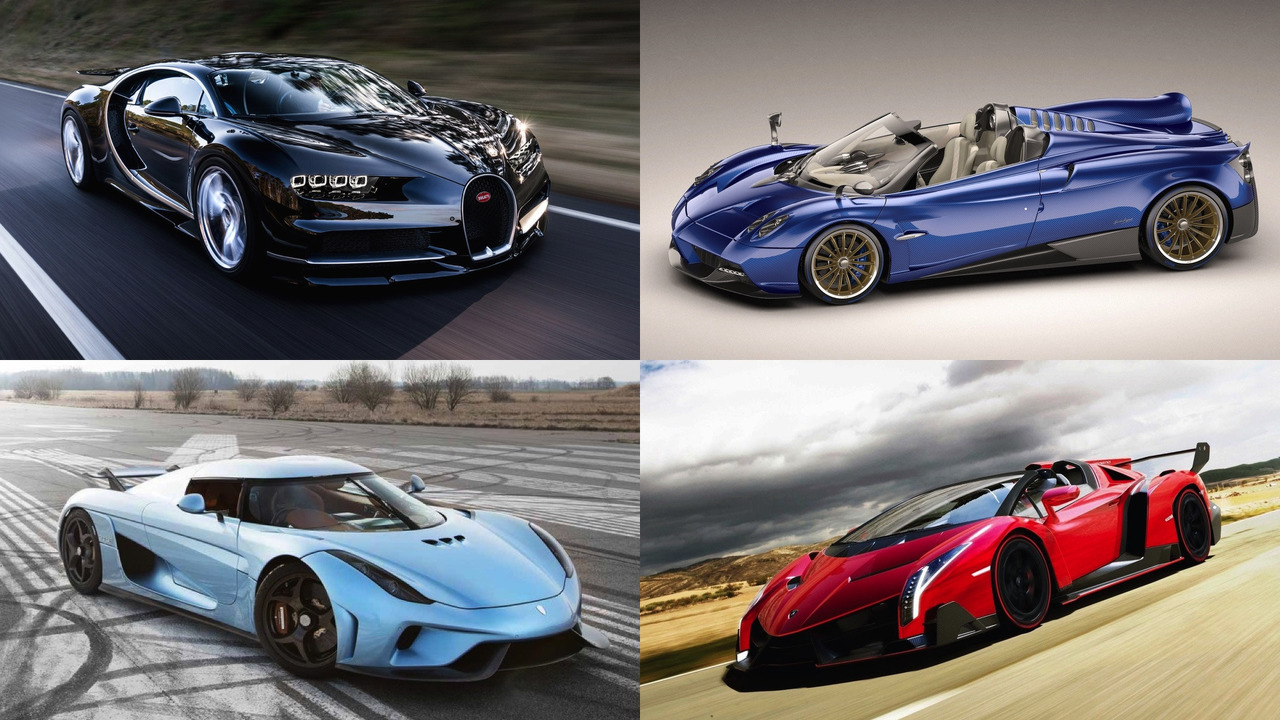 20 Most Expensive Cars 2017