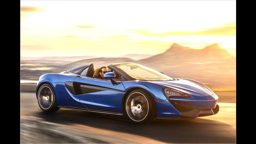 McLaren 570S Spider: Endlich offen