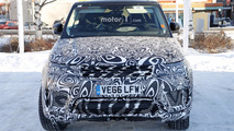 2018 Range Rover Sport plug-in hybrid spy photo