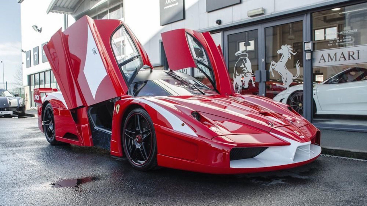 The world\u0027s only street,legal Ferrari Enzo FXX is for sale