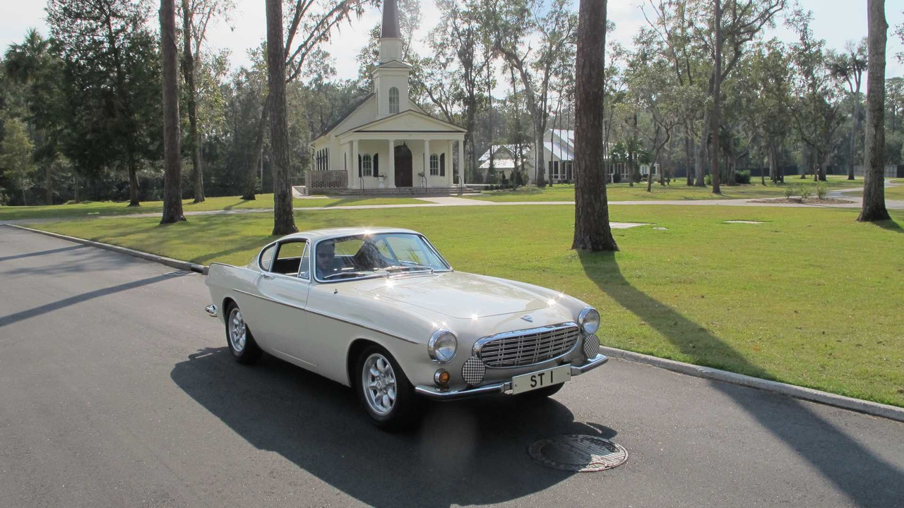 Roger Moore S Volvo P1800 From The Saint