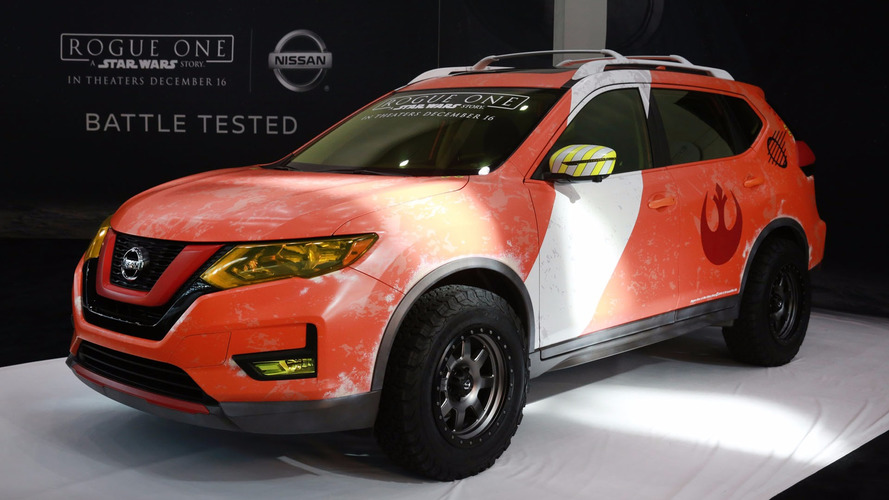 Nissan Rogue New York Auto Show