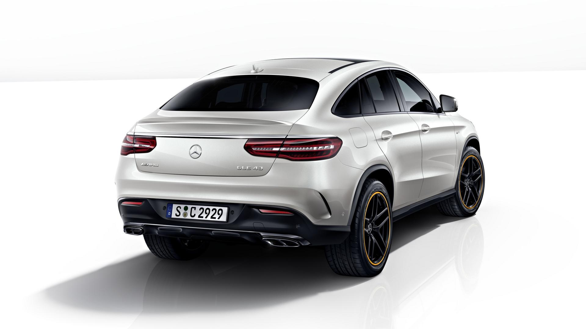 Mercedes Gle Coupe Orangeart Edition Barely Has Any Orange