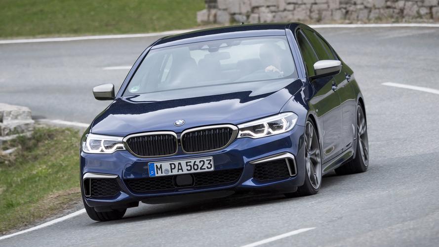 2020 BMW M550i xDrive, 8 Serisi'nin motorunu alacak