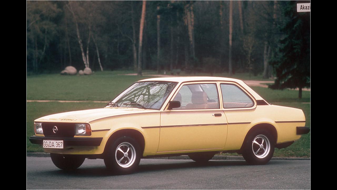 Platz acht im Vergleich zu 2015: Opel Ascona B 1.6 N