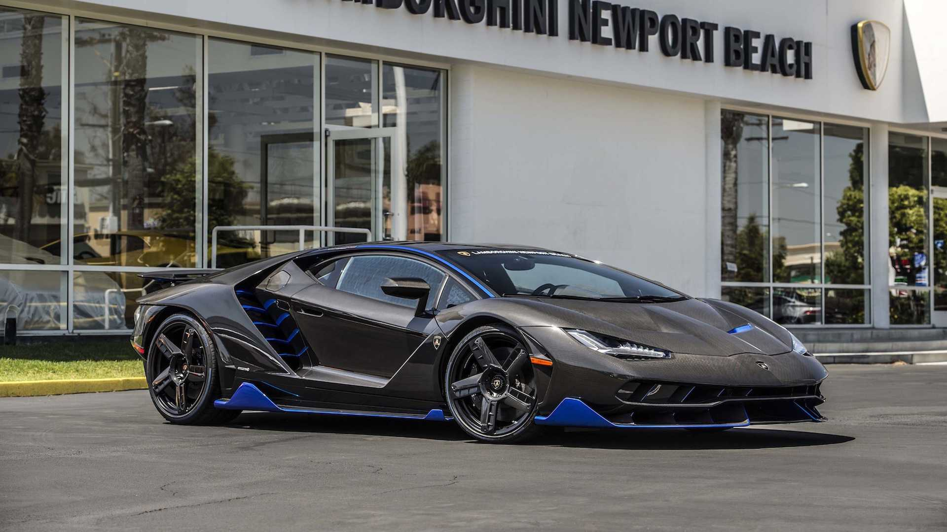 First Lamborghini Centenario In The US Shows Up In Cali - Lamborghini newport beach car show 2018