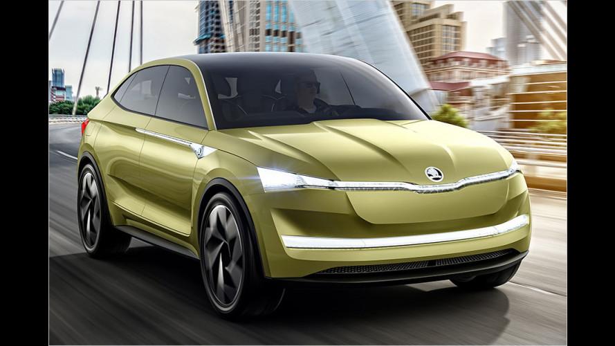 Skoda Vision E: Alle Infos zu dem Elektro-SUV