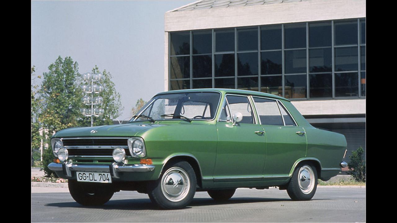 Platz 10: Der Opel Kadett mit 4.685 Fahrzeugen
