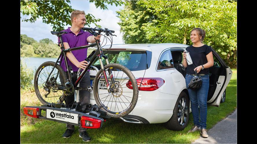 Fahrradträger Westfalia Bikelander für die Anhängerkupplung